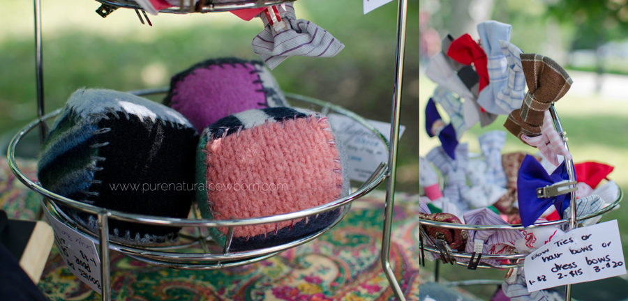 marche-vieux-aylmer_reprises-fibres-upcycle-fabric-bowties-upcycled-sweaters-wool-balls-toys