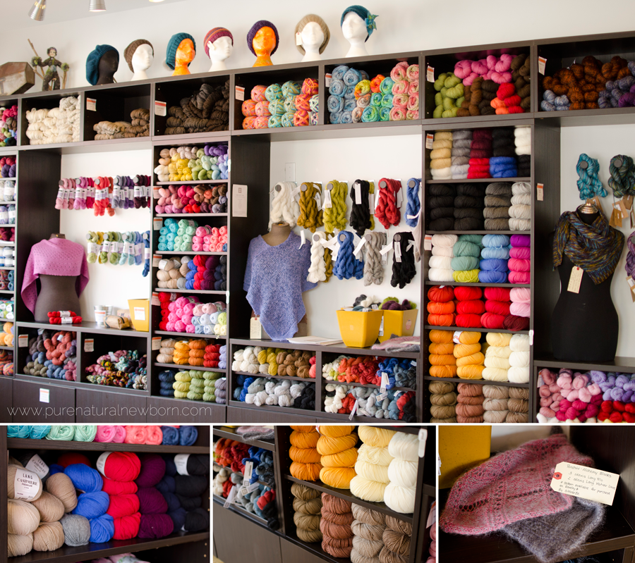 Local Yarn Store Tour