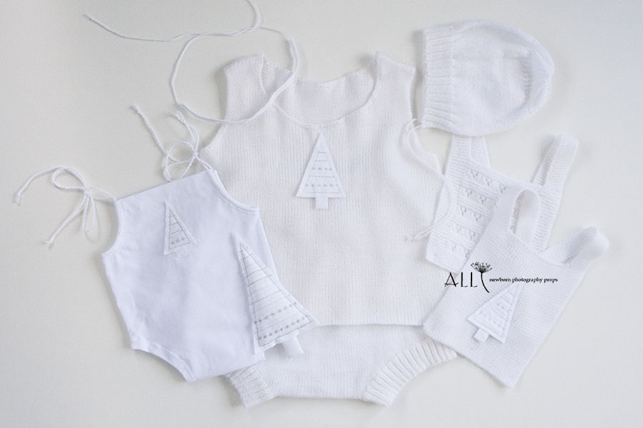 7-4-dress-romper-shorts-trousers-pants-onsie-overall-headband-tieback-toy-softie-baby-bib-bonnet-hat-all-newborn-props-photo-photography-prop-white
