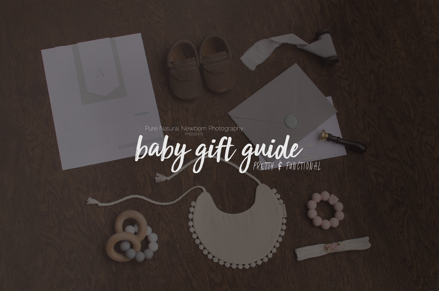 Baby Gift Guide : Baby gift guide handmade canadian pretty and functional shower ottawa newborn photographer
